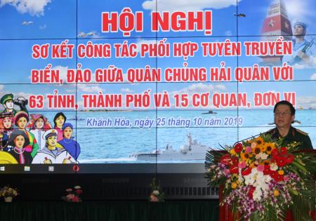 Hội nghị sơ kết công tác phối hợp tuyên truyền biển, đảo