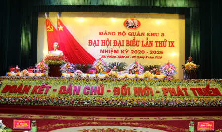 Đại hội đại biểu Đảng bộ Quân khu 3 lần thứ IX