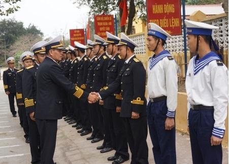 Vùng 1 Hải quân xây dựng vững mạnh toàn diện, bảo vệ vững chắc chủ quyền biển, đảo