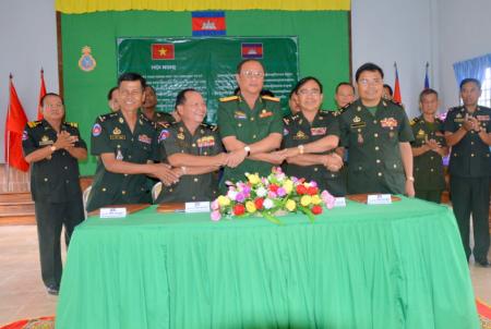 Lực lượng vũ trang Tây Ninh nâng cao chất lượng công tác đối ngoại quốc phòng
