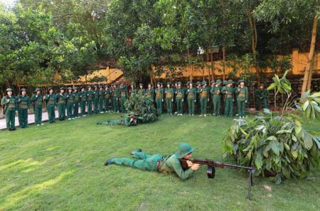 Trung tâm Giáo dục quốc phòng và an ninh Trường Đại học Sư phạm Hà Nội 2 vững bước phát triển