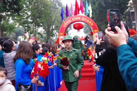 Quận Hoàn Kiếm với công tác tuyển chọn, gọi công dân nhập ngũ
