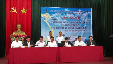 Phối hợp hoạt động giữa Cảnh sát biển Việt Nam với các cơ quan, tổ chức, lực lượng chức năng