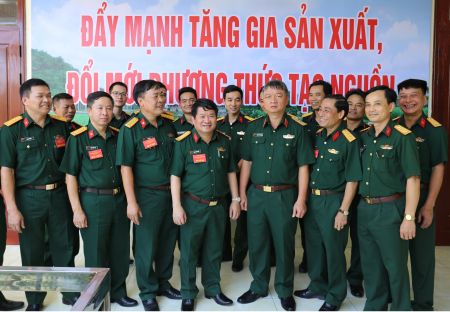 Following Uncle Ho's teaching - A motivation for the Logistics sector of Military Region 3 to improve its quality and efficiency