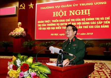 Keeping faith with the Party, Vietnam People's Army sharpens morale and enhances the combat power to firmly defend the Fatherland