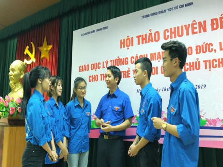 Promoting the role of Ho Chi Minh Communist Youth Union in todays Party building work