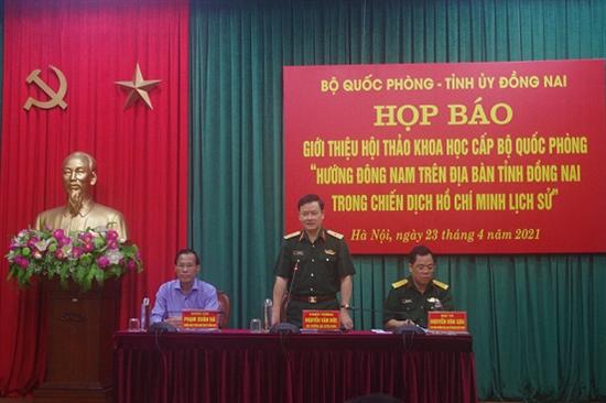 Chuẩn bị chu đáo tổ chức Hội thảo Hướng Đông Nam trên địa bàn tỉnh Đồng Nai trong Chiến dịch Hồ Chí Minh lịch sử