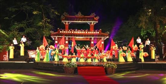 庆祝胡志明主席遗嘱执行50周年的团结之歌电视异地直播活动举行