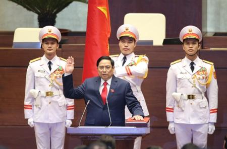 范明正当选为2016-2021年任期政府总理
