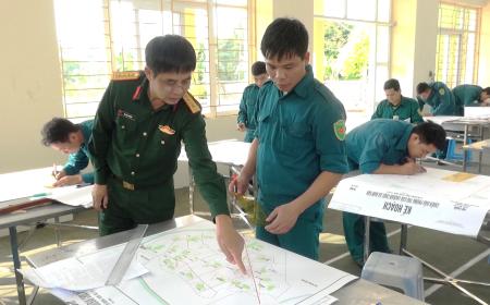 Nam Định nâng cao chất lượng đội ngũ cán bộ quân sự xã, phường, thị trấn