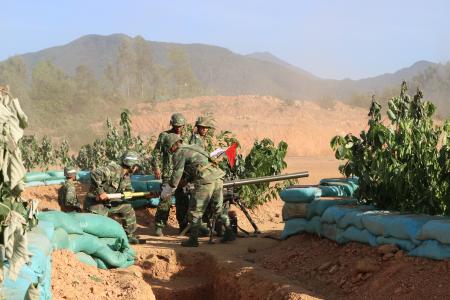Lực lượng vũ trang huyện Vĩnh Tường phát huy vai trò nòng cốt trong công tác quốc phòng, quân sự