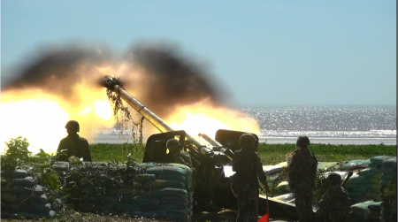 The Artillery Brigade 16 improves the quality of combat training