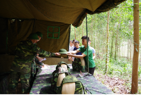 Division 390s experiences in managing and training reservists