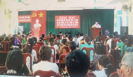 Kien Xuong district improves the quality of defence and security education