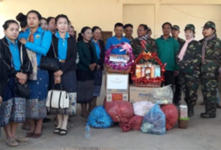 Raising the effectiveness of mass mobilisation amongst divisions of the Lao Peoples Army